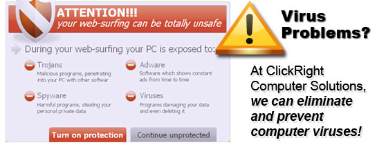 ClickRight Removes Computer Viruses!